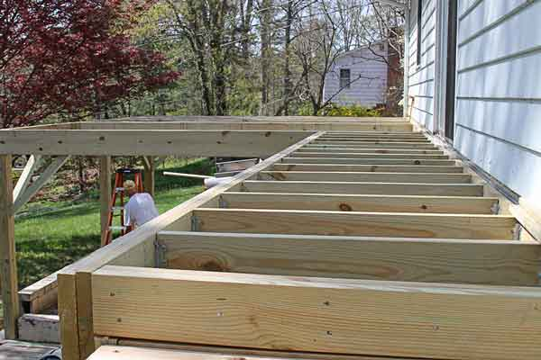 deck construction beavercreek ohio
